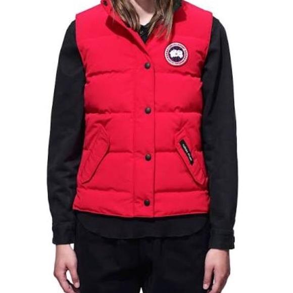 canada goose jackets coats xs ladies freestyle vest nwt poshmark rh poshmark com